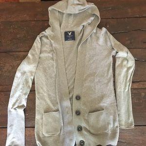 American Eagal hooded sweater